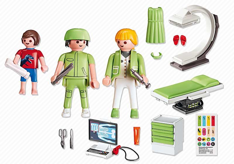 Contenido Real de Playmobil® 6659 Sala de Rayos X
