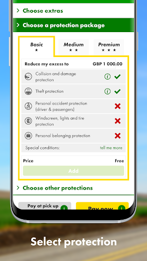 Europcar - Car & Van Hire - screenshot