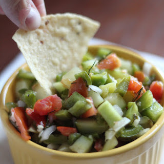Spicy Cucumber Salsa