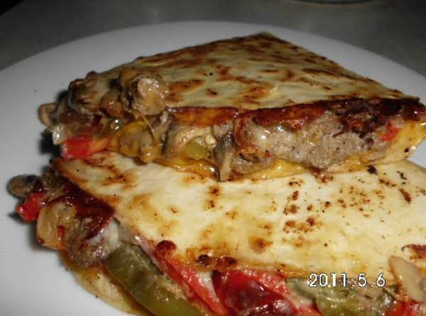 Cheesesteak Quesadilla's Recipe