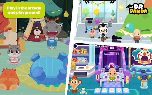 Dr. Panda Town: Mall - screenshot