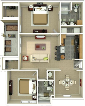 Go to The Weakley Floorplan page.