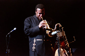 """Photo: Wallace Roney """"Miles and Miles"""" A Musical Journey2001.07.0722nd  Festival de Jazz de Montreal2001.06.28-07.08"""