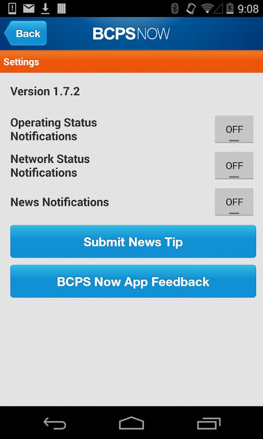 BCPS Now - screenshot