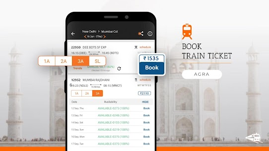 PNR Status, Train Running Status & Ticket Booking App Download For Android 3