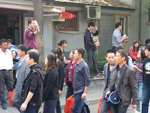Photo: Beijing - next to Prince Gong's mansion in Shichahai area, crowded with disgusting tons of people during holidays, very touristy street with annoying sellers shouting on people offering some stuff