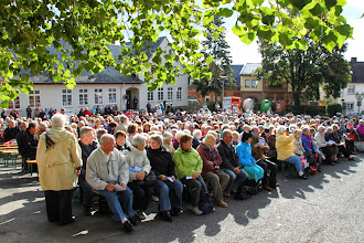 Photo: Tirsdag den 17. Hildegardfestdag. Godt 1000 mennesker var samlet til messen kl. 10.