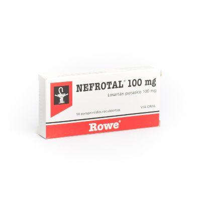 Losartan Potasico Nefrotal 100 mg x 14 Comprimidos