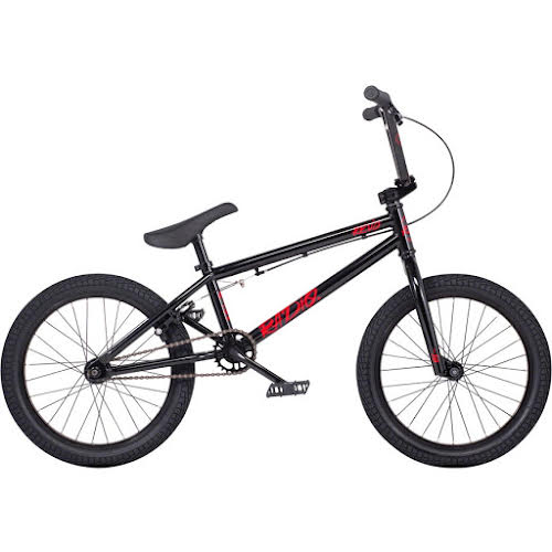 "Radio Revo 18"" BMX Bike - 17.55"" TT, Black"