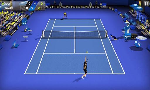 3D Tennis screenshot 1