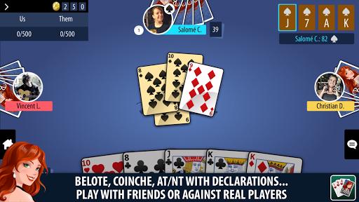 Belote Multiplayer  gameplay | by HackJr.Pw 2