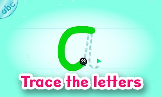 Hairy Letters Screenshot