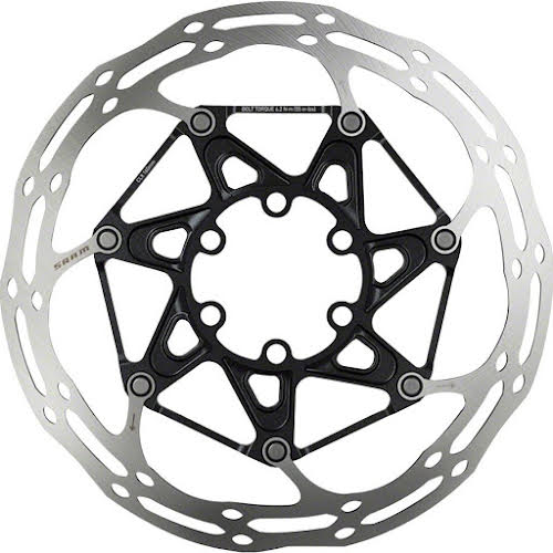 SRAM CenterLineX 6-Bolt 140mm Rotor with Rounded Edge