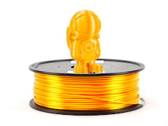Silky Yellow MH Build Series PLA Filament - 1.75mm (1kg)