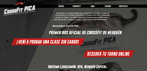 Pica CrossFit app (apk) free download for Android/PC/Windows screenshot