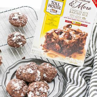 Fudgy Brownie Cream Cheese Cookies.