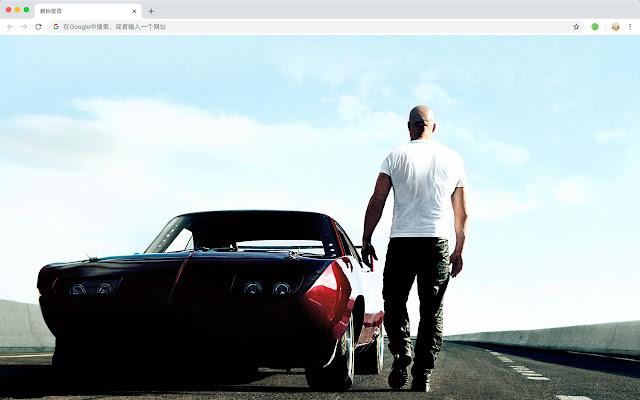 Van Diesel New Tab Page HD Wallpapers Themes