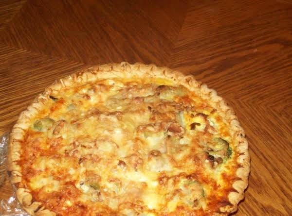 Broccolli Quiche Recipe