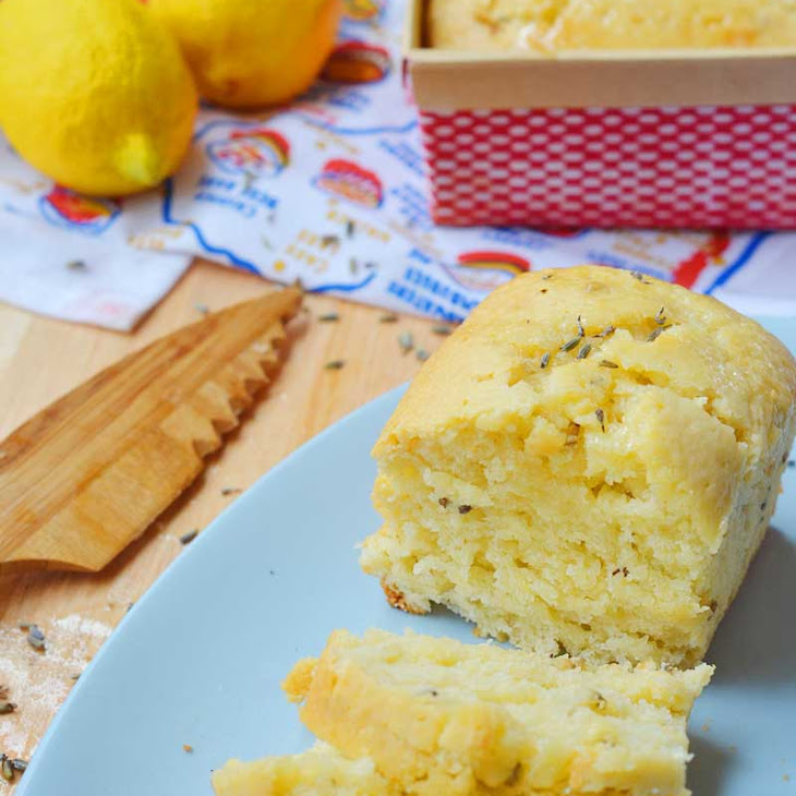 Lemon Lavender Quick Bread Recipe