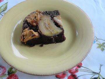 Chocolate Pbj Banana  Upside Down Dump Cake Recipe