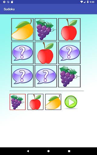 Sudoku game for kids