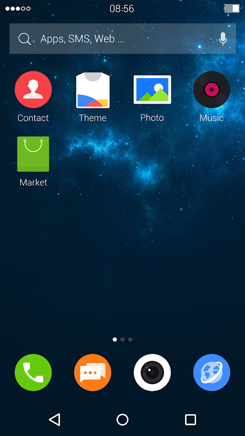 Night: DU Launcher Theme- screenshot