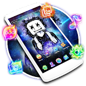 DJ Neon Galaxy Launcher Theme Live HD Wallpapers Android APK Download Free By Best Launcher Theme & Wallpapers Team 2019