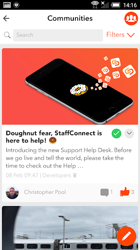 StaffConnect App 2.7.14 screenshots 2