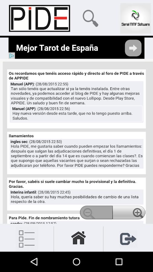 APPide. Foro de Sindicato PIDE- screenshot