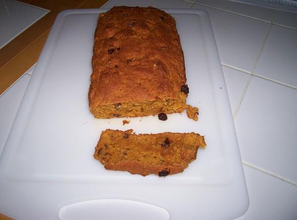 Low -fat Pumpkin  Bread Recipe