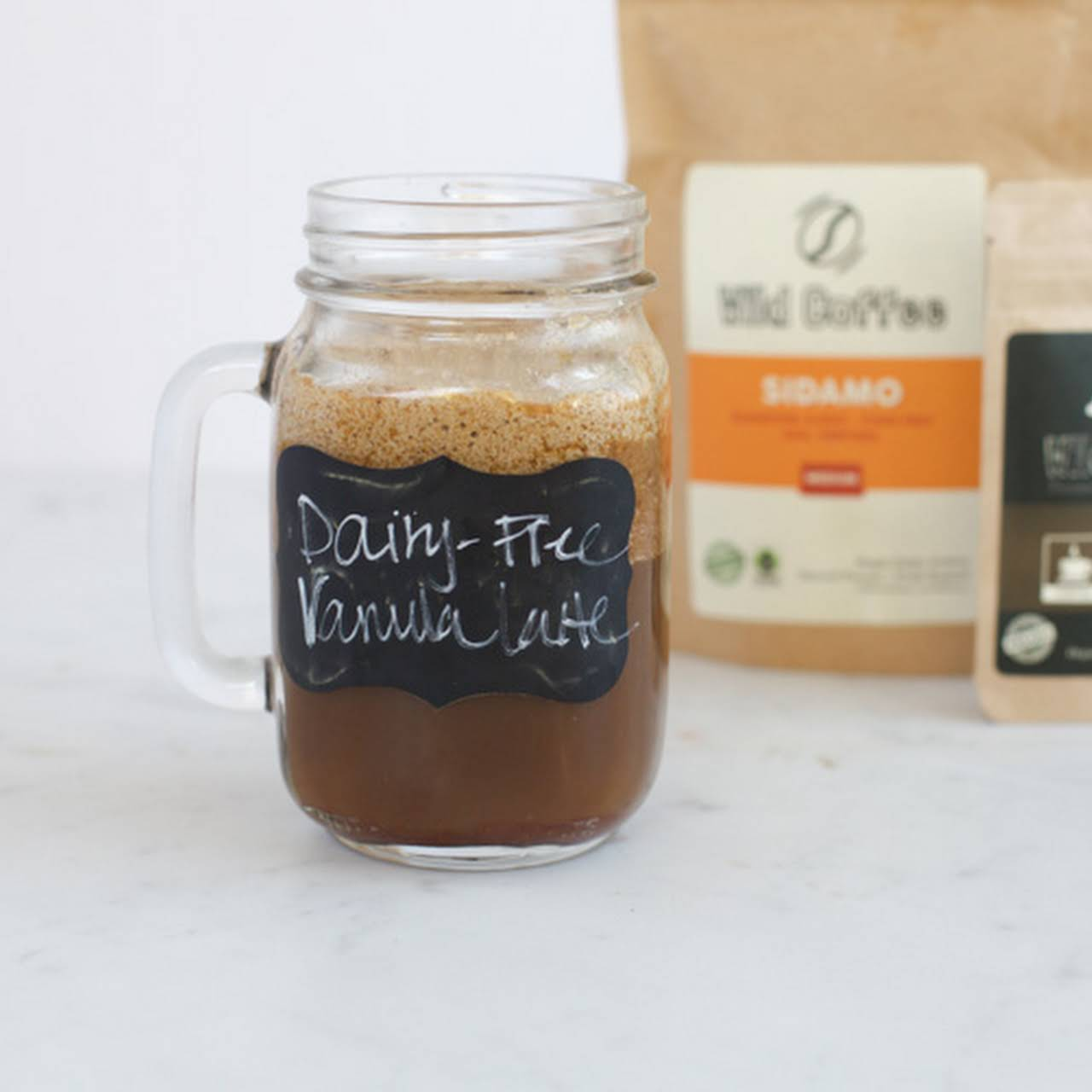 How to Make Homemade Cold Brew Coffee plus, dairy-free vanilla latte recipe