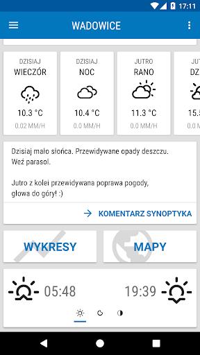 Weather ICM u2014 the best forecast for Europe 1.5.5 screenshots 2