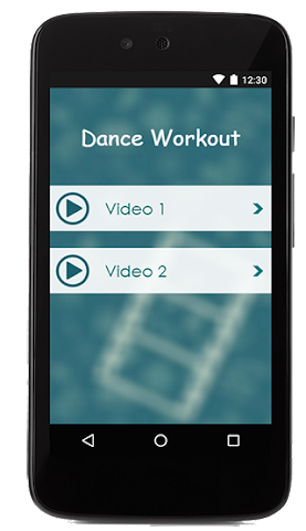 android Dance Workout Guide Screenshot 1