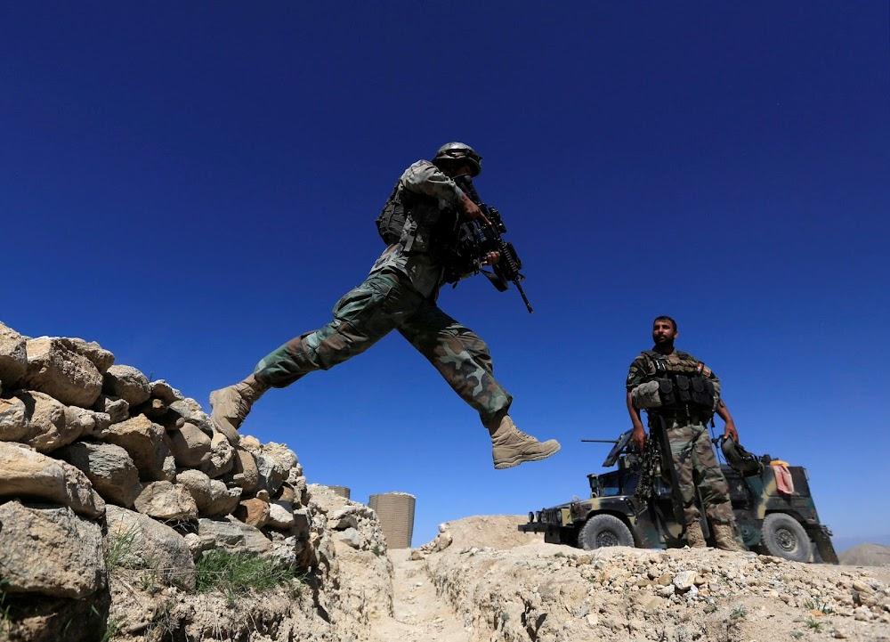 Afgaanse vredesonderhandelinge is opgehou, Amerika om Taliban onder druk te hou