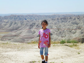 Photo: I had forgotten how impressive the Badlands looked. We had previously visited the park during my family's trip across the country from New Jersey to California.