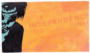Photo: Wenchkin's Mail Art 366 - Day 134, Card 134b