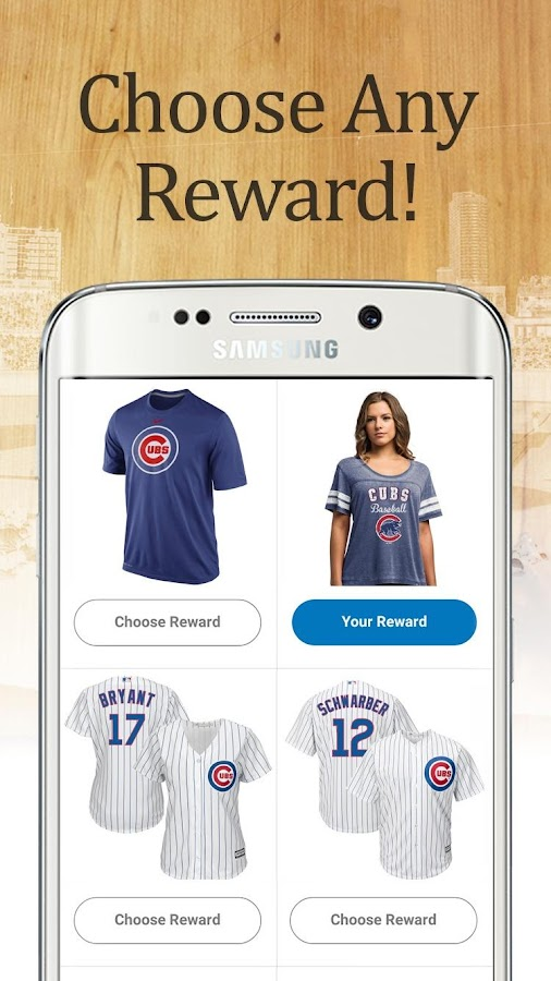 Chicago Baseball Rewards- screenshot