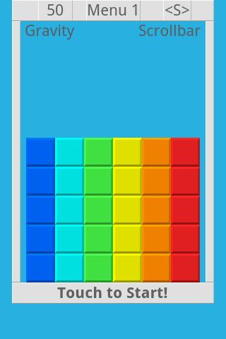 Falling Color Bricks