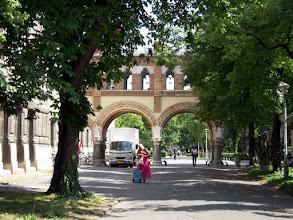 Photo: Sóhajok hídja, a főépületet és a könyvtárat összekötő folyosó