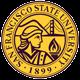 Logo of San Francisco State University online pharmacy technician training program