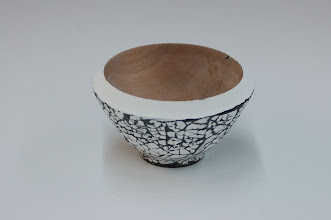 "Photo: Ed Karch - Bowl - maple and eggshell - 3"" x 1.5"""