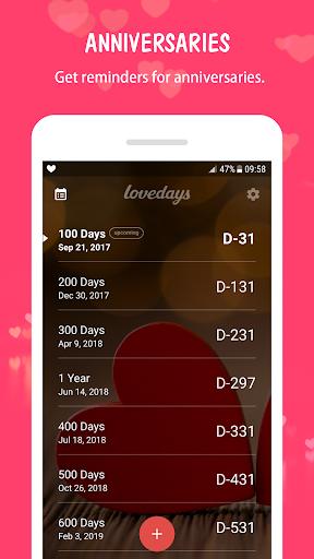 Been Love Memory - Love Days Counter 1.0 screenshots 7