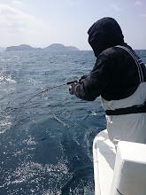Photo: 今度は漁礁でヒット!