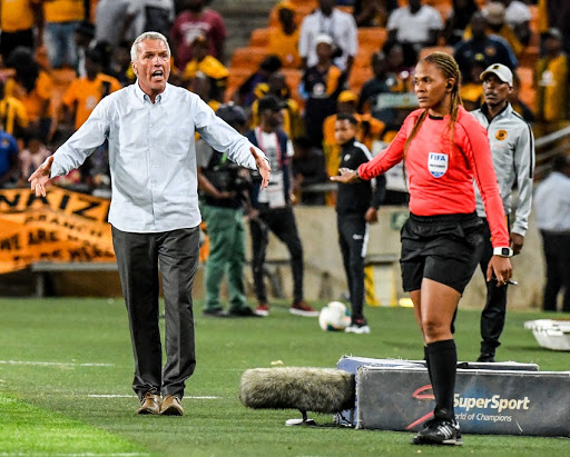 Middendorp blames Fifa break and MTN8 semis for Chiefs' first league defeat of the season