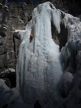 Photo: Doug leading near the top.