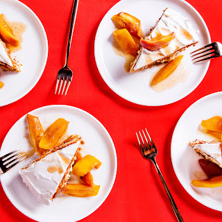 Ginger-Peach Icebox Pie