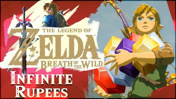 Trucchi Zelda breath of the wild: Rupie Infinite e Soldi Illimitati