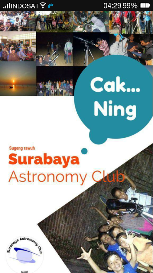 Surabaya Astronomy Club- screenshot