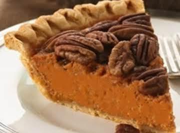 Sweet Carrot Pecan Pie