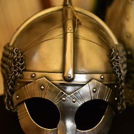 Middle Ages Helmet  by Marco Bertamé - Artistic Objects Other Objects